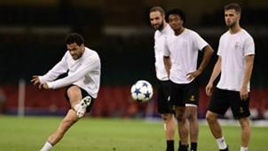 Dani Alves, Gonzalo Higuain, Cuadrado, Miralem Pjanic, Juventus, Champions League, 02062017