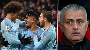 Manchester City Jose Mourinho 2018