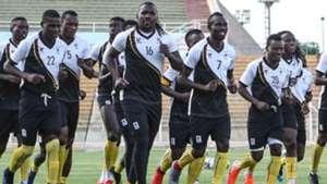 Uganda Cranes squad.