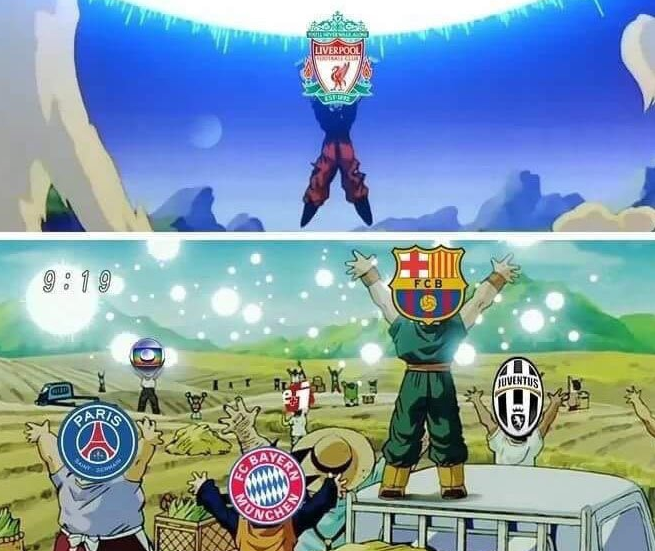 Barcelona Vs Real Madrid Or Liverpool Vs Manchester United: Los Memes Del Real Madrid Vs Liverpool