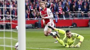 Kasper Dolberg, Ajax - Lyon, Europa League, 03042017 Edi