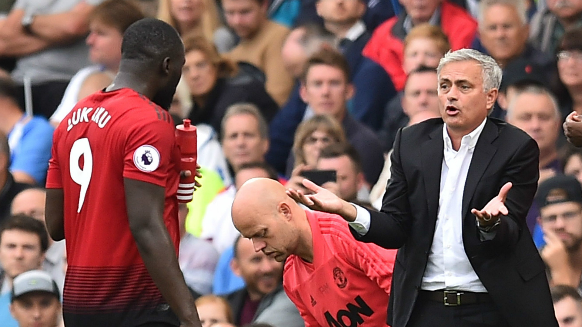 Jose Mourinho Romelu Lukaku Manchester United 2018-19