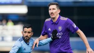 Maxi Morales Sacha Kljestan NYCFC Orlando City MLS