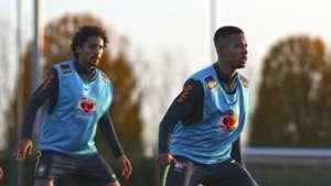 Gabriel Jesus Marquinhos Brasil treino 12112018