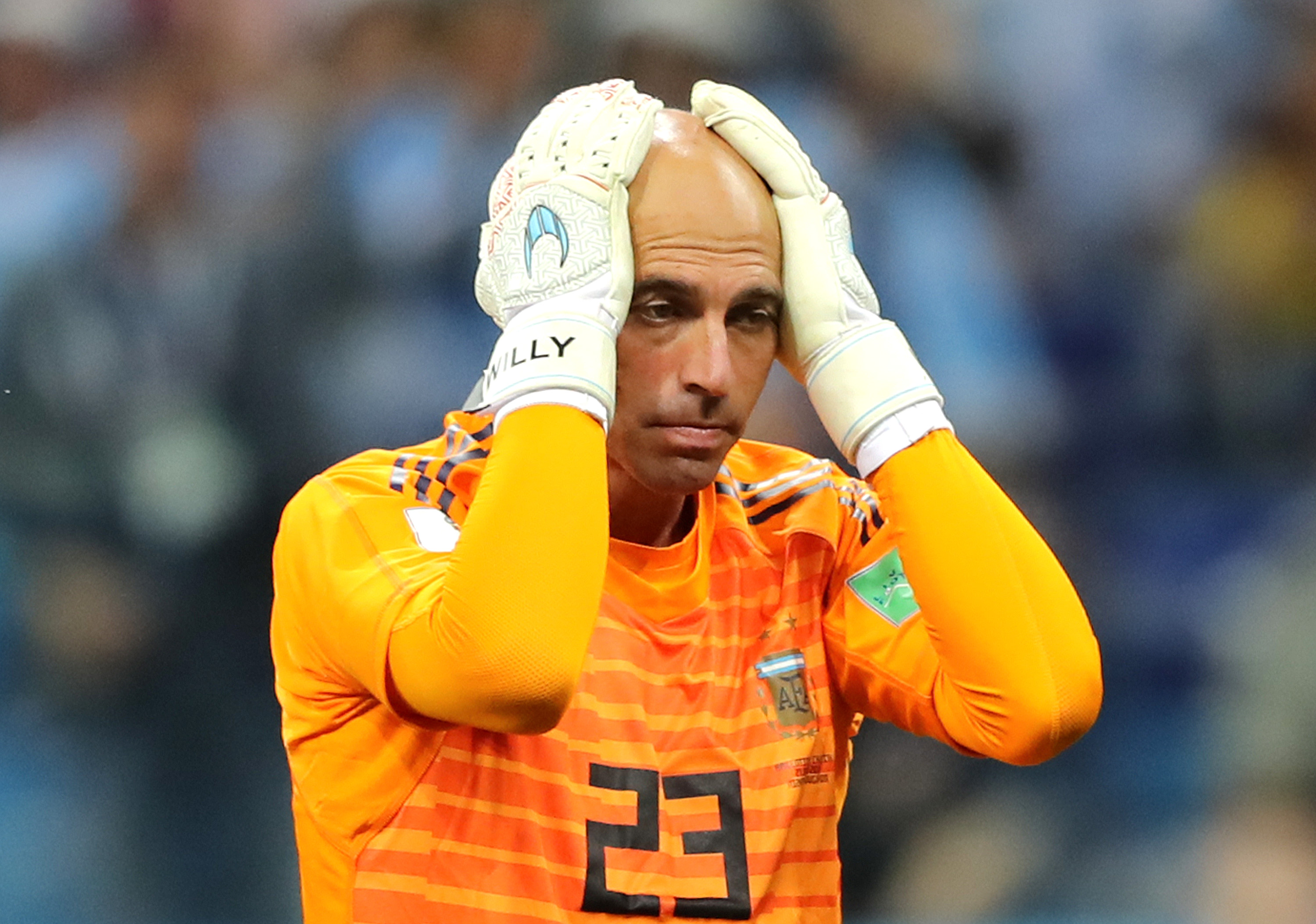 Willy Caballero se desahogó en Instagram