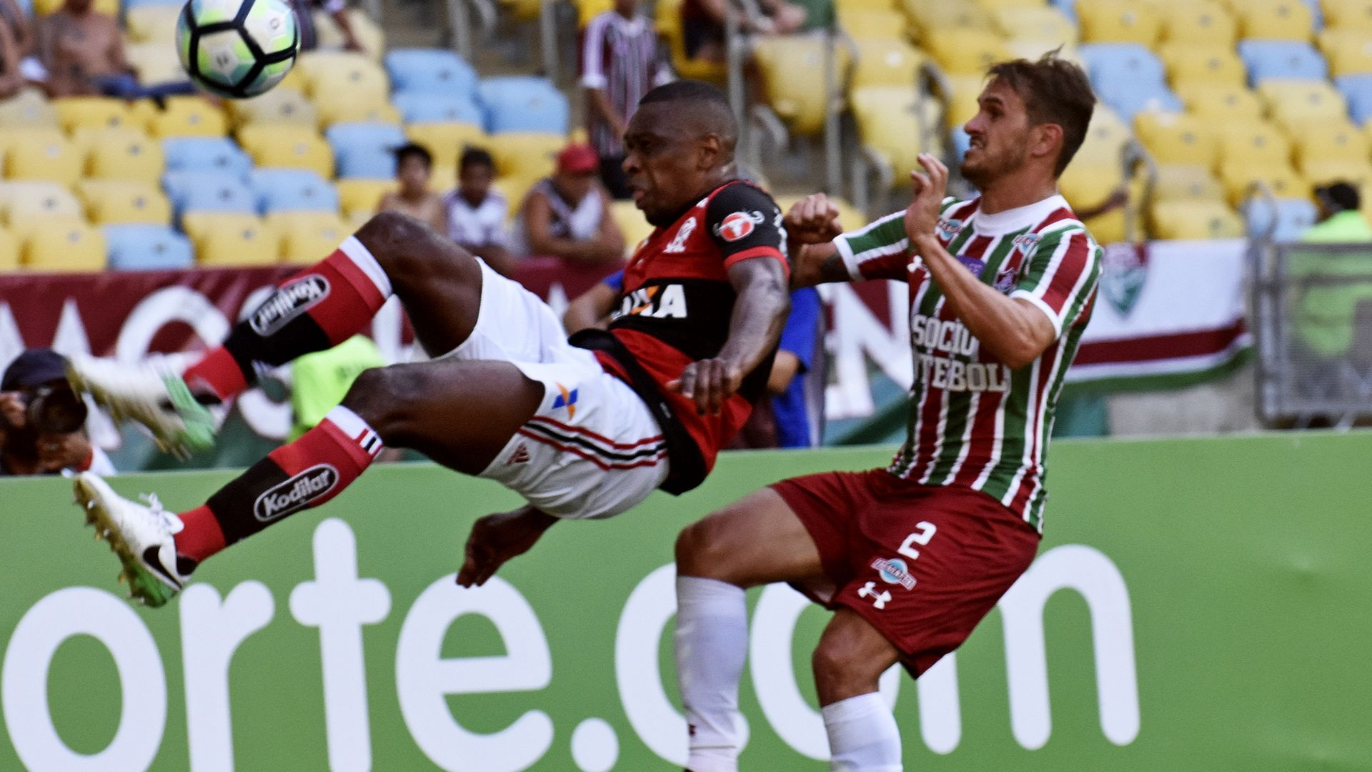 Juan Lucas Marques Flamengo Fluminense Brasileirao Serie A 12102017