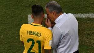 Roberto Firmino Tite Brazil 06102016