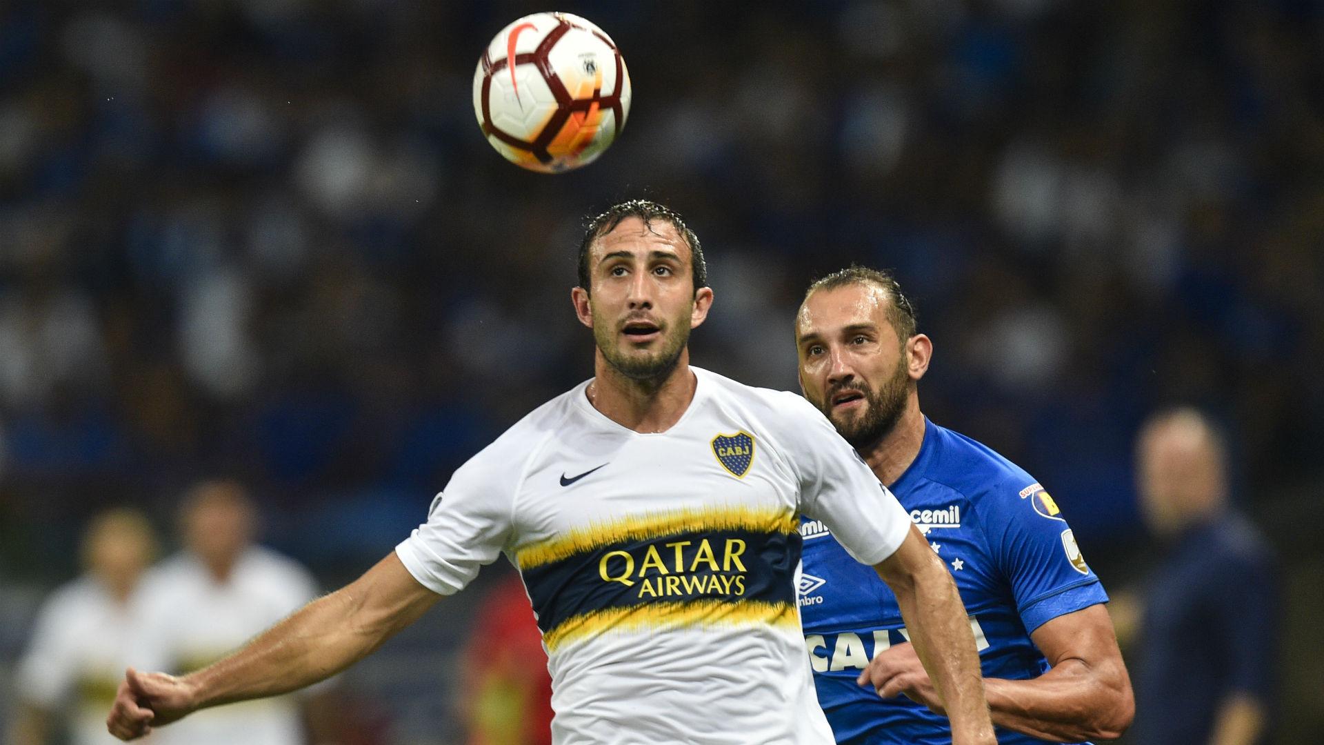 Izquierdoz Barcos Cruzeiro Boca Libertadores 04 10 2018