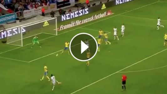 Olivier Giroud volley goal 090617