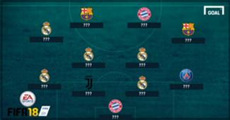 FIFA 18 Best Position XI header