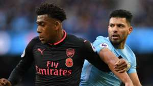 Alex Iwobi Arsenal Sergio Aguero Manchester City