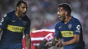 Wanchope Abila Tevez Union Boca Superliga 01032019