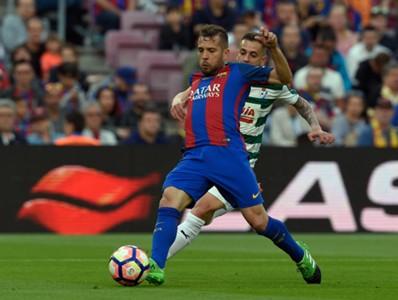 Jordi Alba Ruben Pena Barcelona Eibar LaLiga 21052017