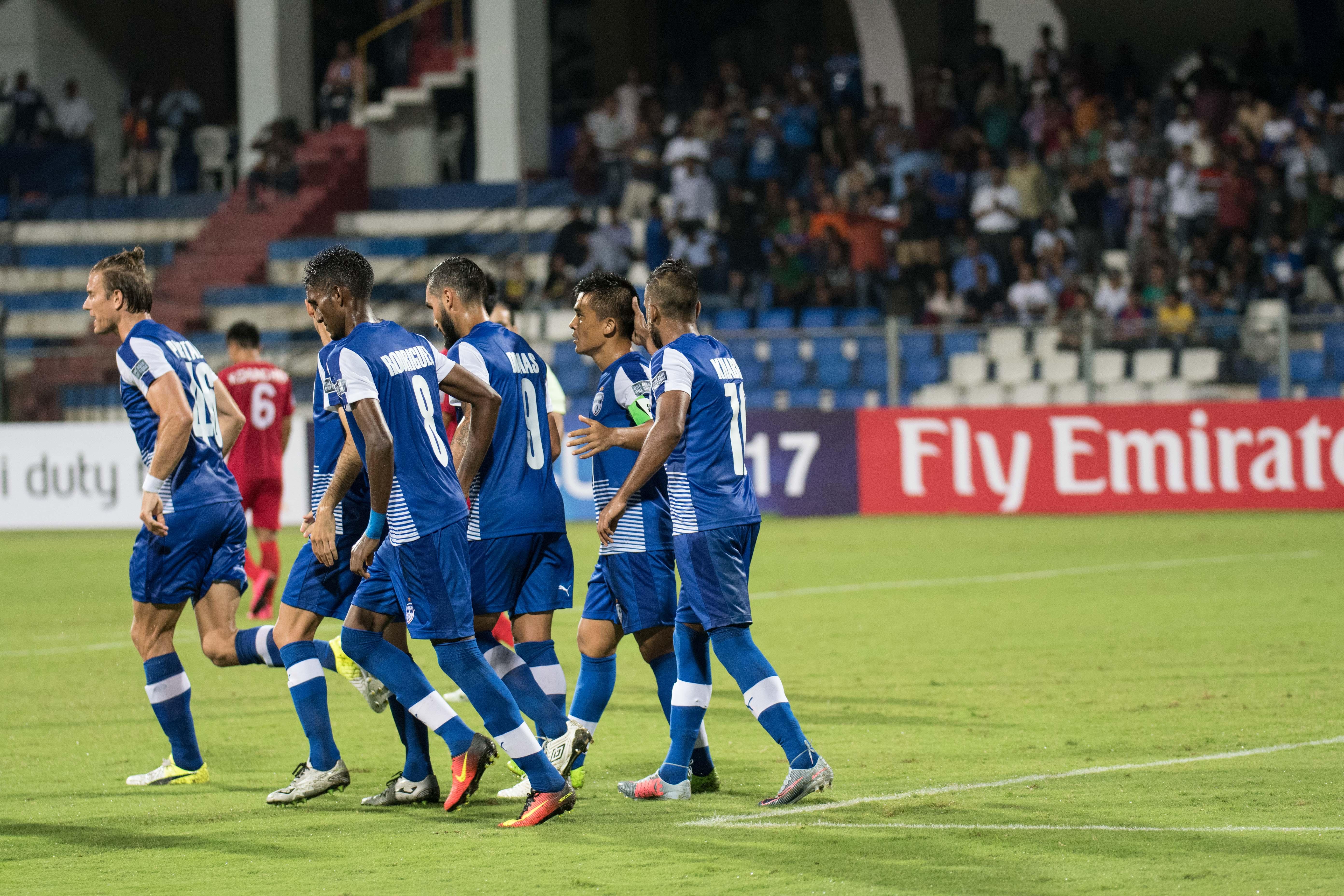 Bengaluru FC 3-0 win AFC Cup