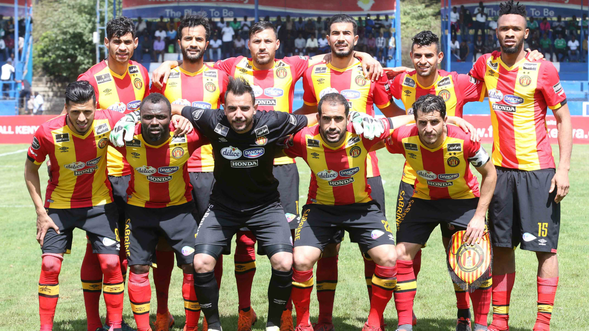 Esperance squad v Gor Mahia.