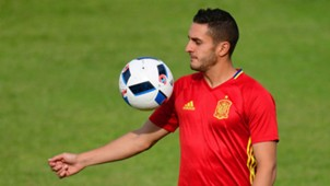 Koke Spain training Euro 2016