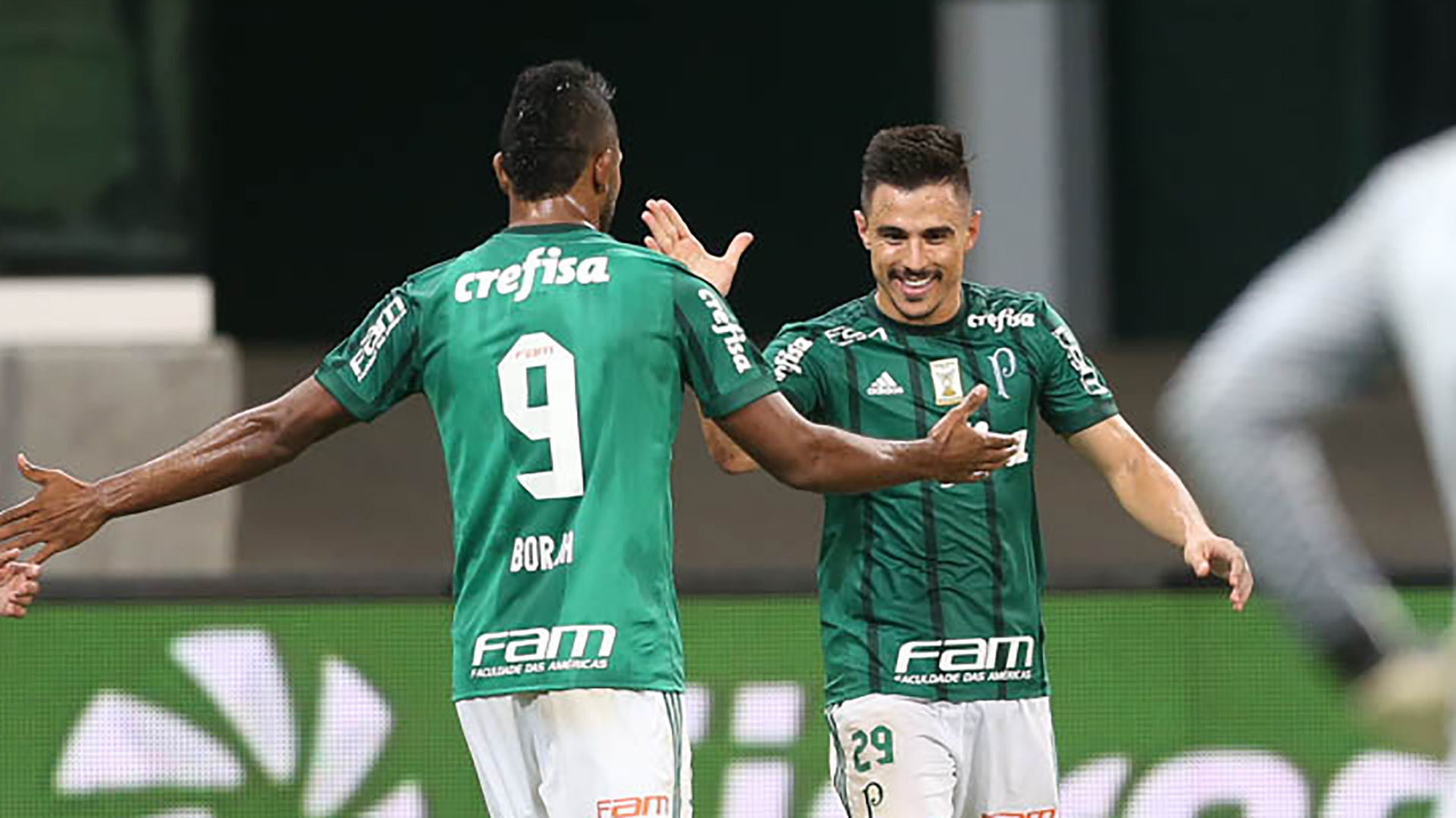 Willian Bigode Miguel Borja Palmeiras Internacional Copa do Brasil 17052017