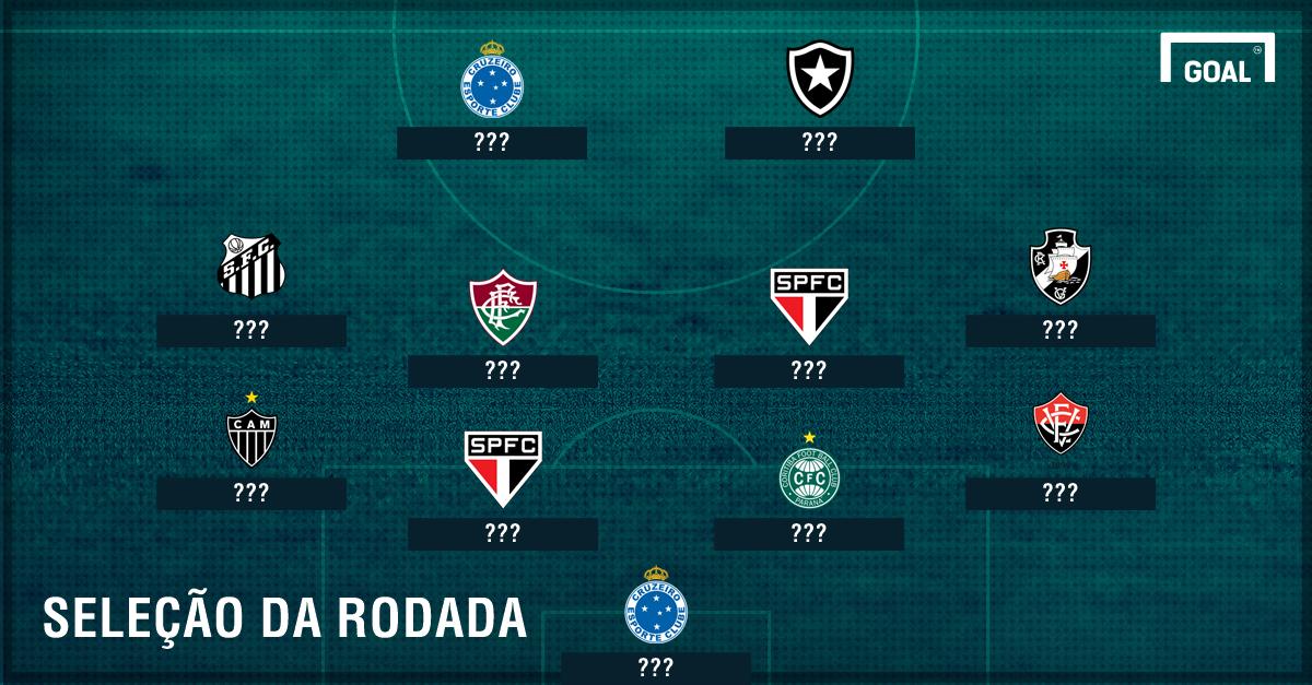Seleção da 23ª rodada do Brasileirão