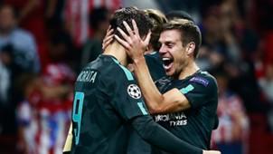 Morata Azpilicueta Chelsea Atletico Madrid Champions League 09272017
