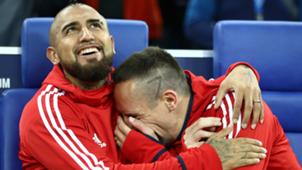 Franck Ribéry, Arturo Vidal