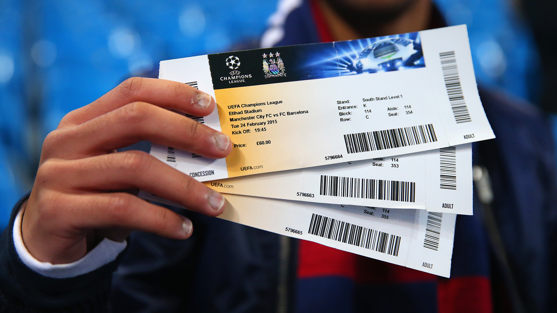 Champions League Tickets Gewinnen