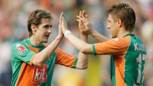 Miroslav Klose Ivan Klasnic Werder Bremen 05052006