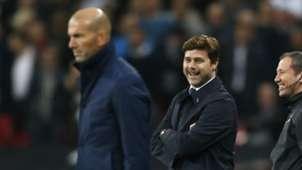 Mauricio Pochettino Zinedine Zidane Tottenham Real Madrid
