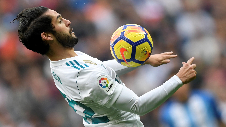 Isco Alarcon Real Madrid Malaga LaLiga 25112017