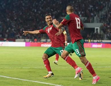 Liminatoires 2018 pour la premi re fois depuis 1998 le maroc est qualifi pour la coupe du - Maroc coupe du monde 1998 ...