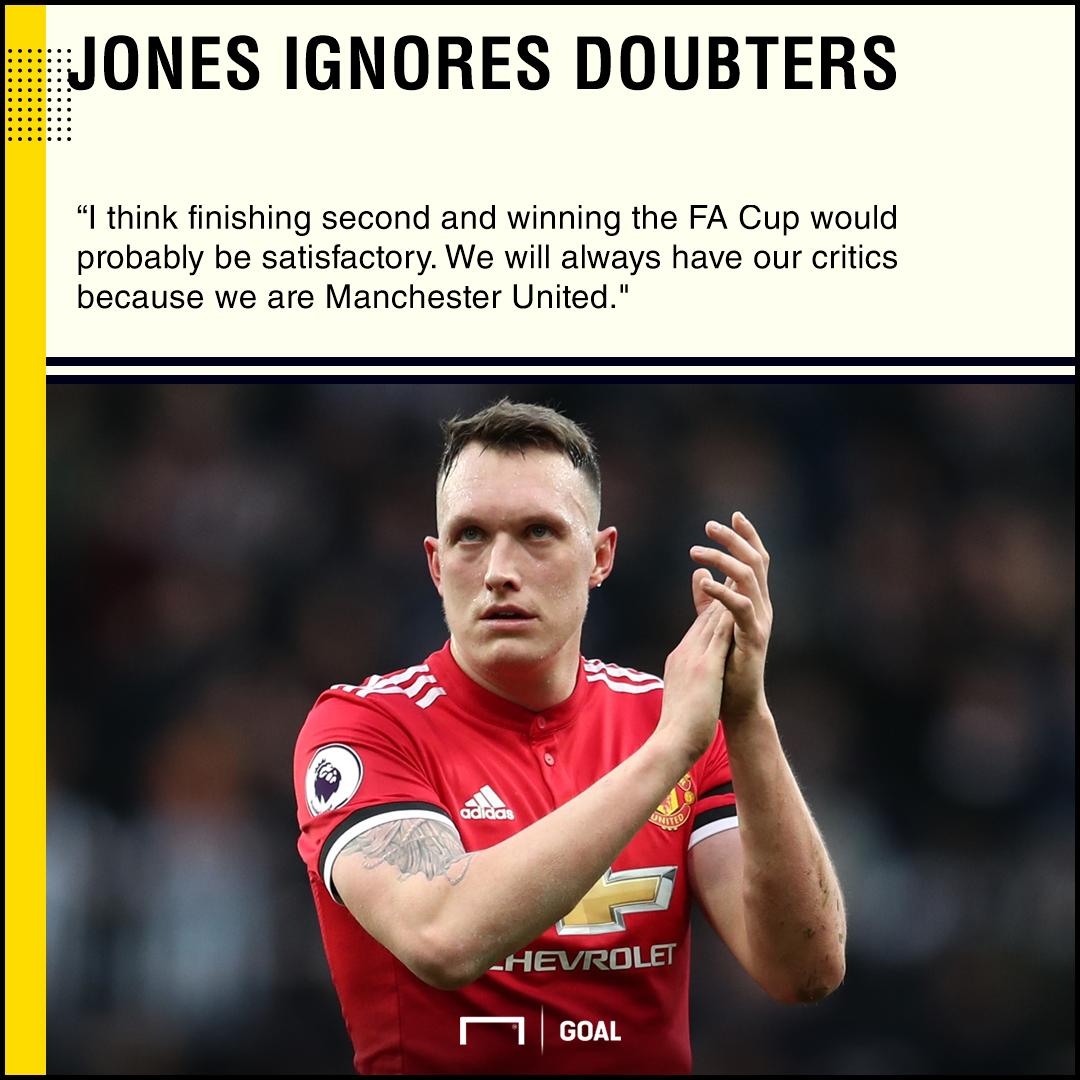 Phil Jones Manchester United always have critics