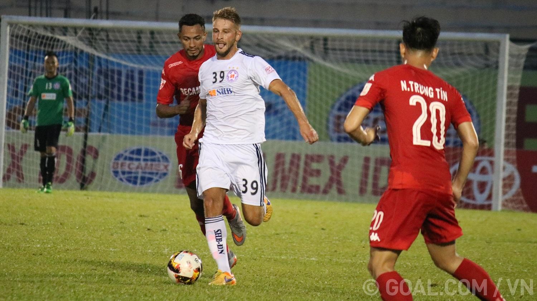 Gramoz Kurtaj Bình Dương Đà Nẵng V.League 2017