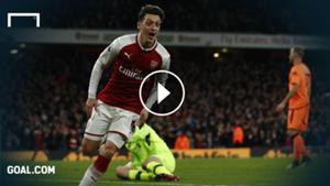 GFX Mesut Özil Arsenal Premier League 22122017
