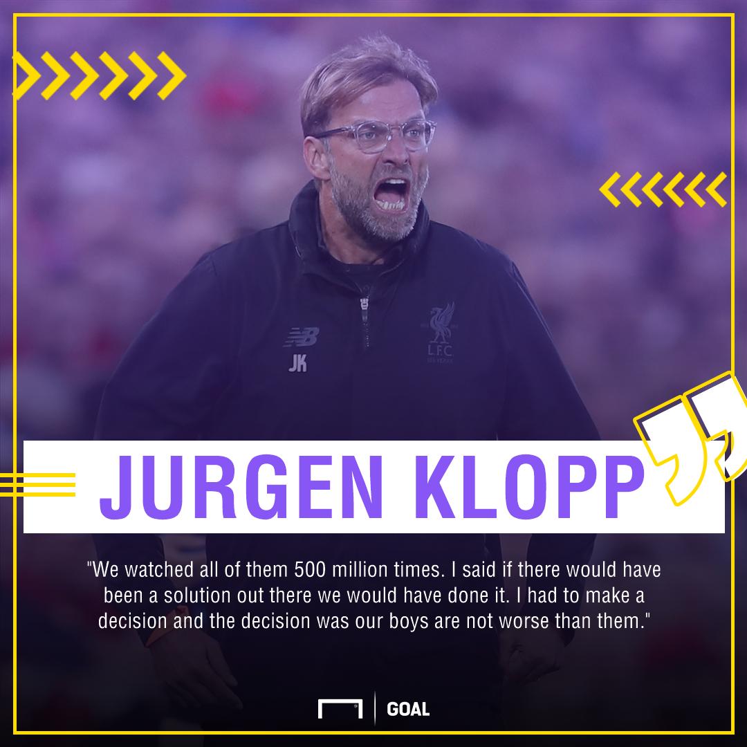 Jurgen Klopp Liverpool targets 500m