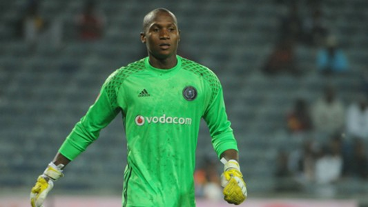 Jackson Mabokgwane of Orlando Pirates - 15022017