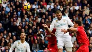 Karim Benzema Real Madrid Sevilla LaLiga 09122017
