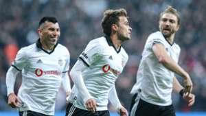 Adem Ljajic Besiktas goal celebration vs Galatasaray 12022018