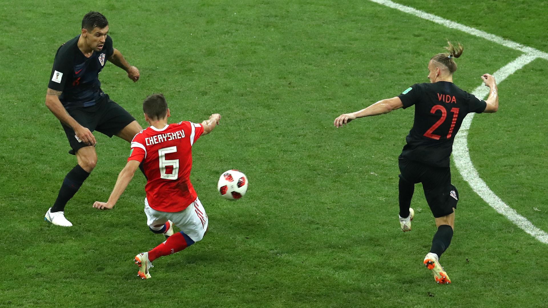 Cherychev Rússia Croacia Copa do Mundo 07 07 2018