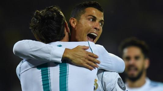 Cristiano Ronaldo Gareth Bale Borussia Dortmund Real Madrid Champions League 26092017