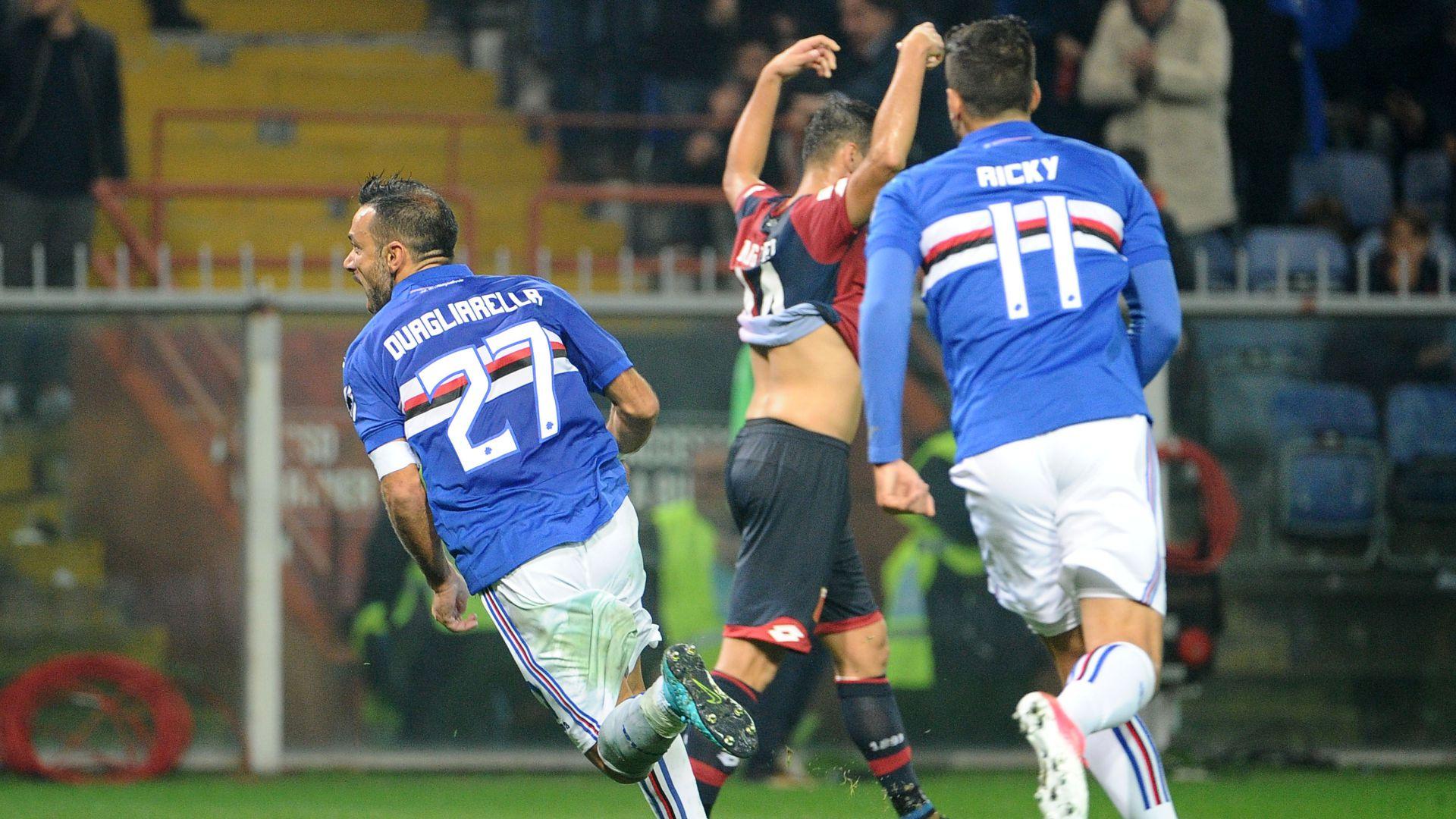 Fabio Quagliarella Genoa Sampdoria