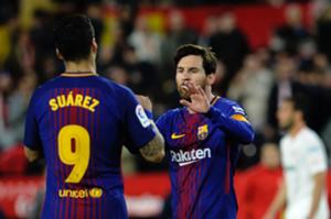 Lionel Messi Luis Suárez Barcelona