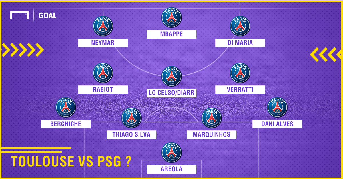 Toulouse vs PSG