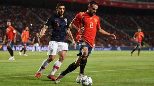 Dani Cavajal Mateo Kovacic España Croacia Spain Croatia UEFA Nations League 11092018