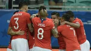 festejo Chile Ecuador Copa America 21062019
