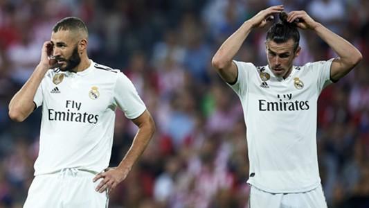 Karim Benzema Gareth Bale Real Madrid 2018