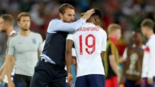 Marcus Rashford Gareth Southgate England Belgium World Cup 2018
