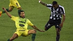 Alex Santana Ciro Rius Botafogo Defensay Justicia Copa Sudamericana 06022019