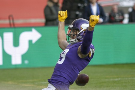 Adam Theilen, Minnesota Vikings