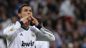 Cristiano Ronaldo Real Madrid Manchester United Champions League 2012-13