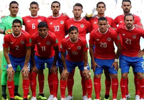 Costa Rica se suma a las selecciones eliminadas