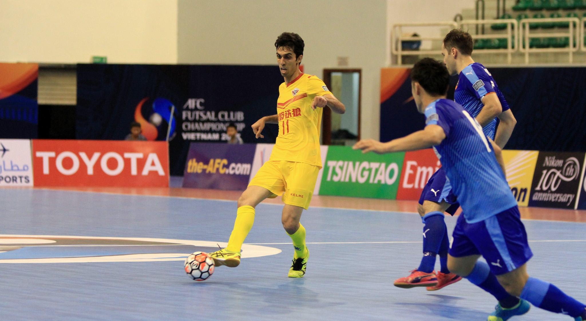 2017 AFC Futsal Club Championship | Shenzhen Nanling Tielang vs Shriker Osaka